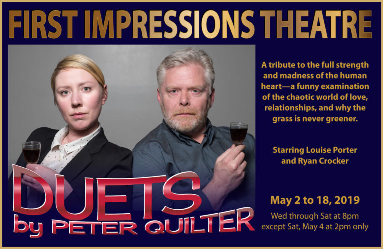 Duets comedy performed by First Impressions Theatre in Deep Cove