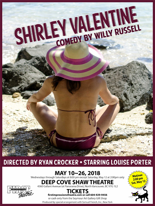 first impressions theatre production of shirley valentine deep cove